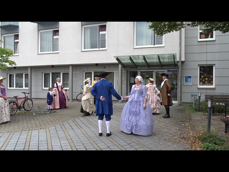 Tanz vor dem GRN