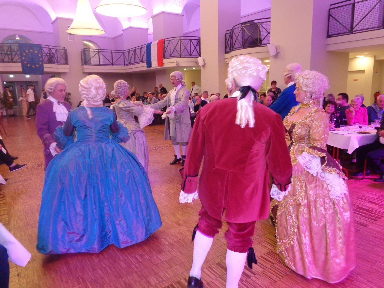Feier zur 50jährigen Städtepartnerschaft -Schwetzingen/Lunevillé