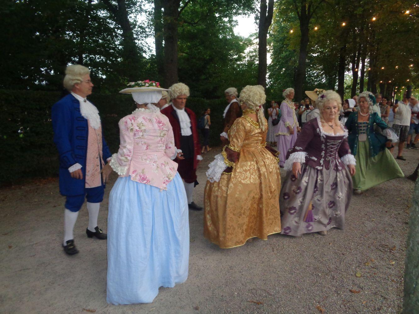 Lichterfest im Schlosspark von Schwetzingen 2019
